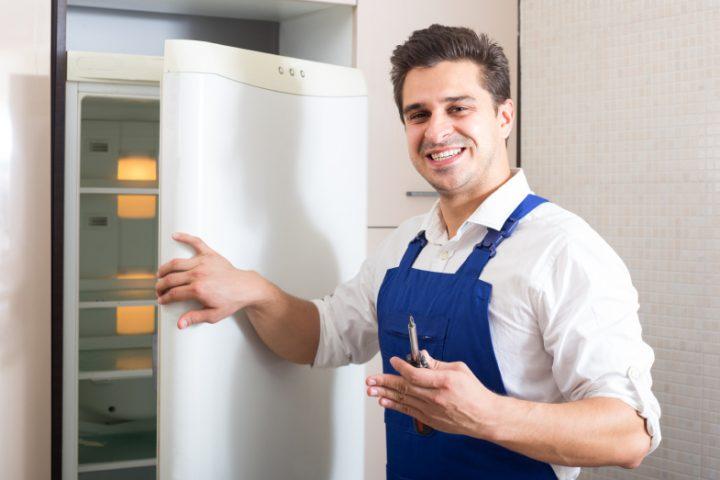 Kühlschrank abbauen