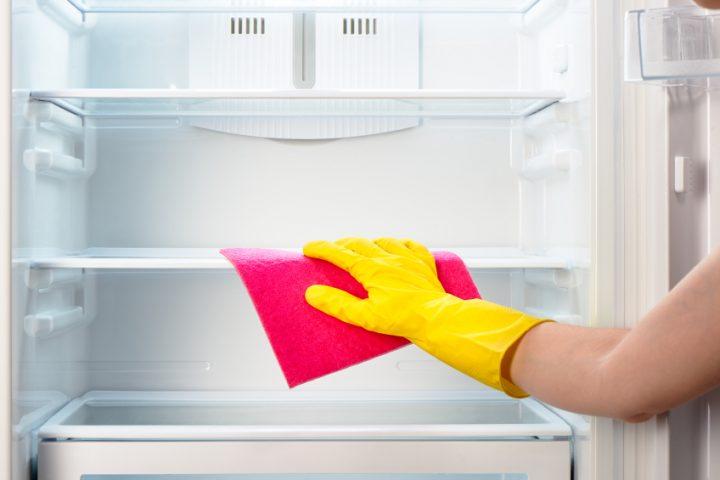 Kühlschrank ausmachen