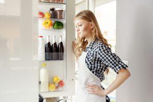 Kühlschrank aufräumen