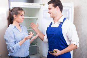 Kühlschrank zischt