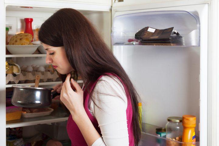 Kühlschrank stinkt innen
