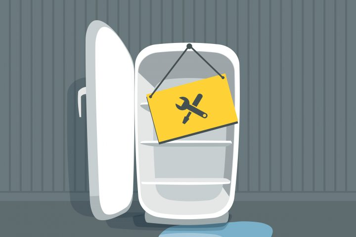Smeg Kühlschrank Wasser Läuft Aus : Kühlschrank tropft woran liegt s und was tun