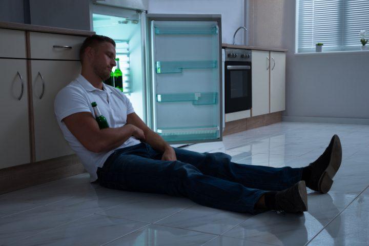 Siemens Kühlschrank Wasser Am Boden : Kühlschrank über nacht offen gelassen was ist zu tun