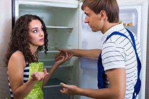 Kühlschrank einstellen