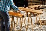 Holz mit Kunstharz