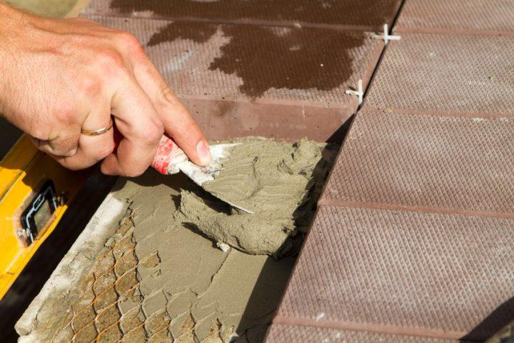 Kunstharz Mörtel für Pflastersteine