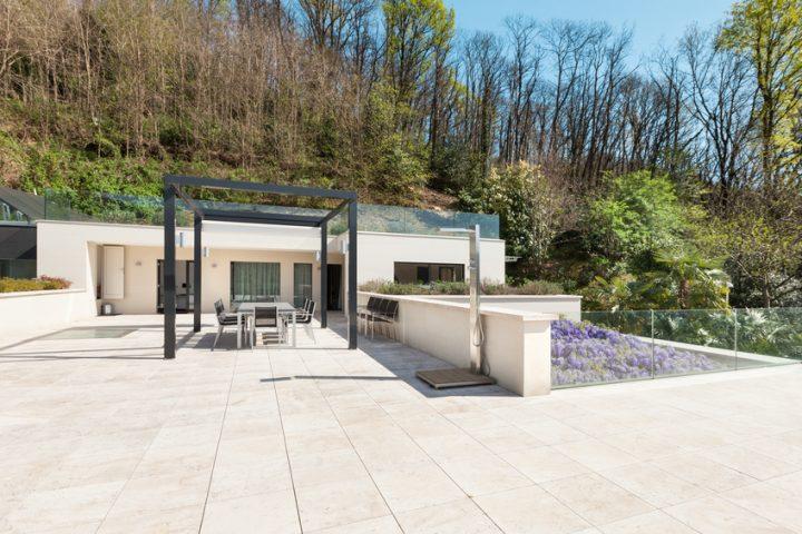 Kunstharzboden Terrasse