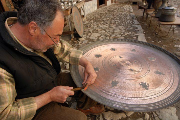 Kupfer bearbeiten