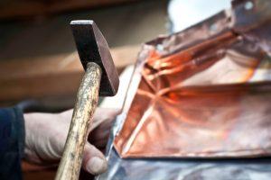 Kupfer verformen