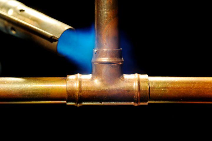 Kupfer verbinden
