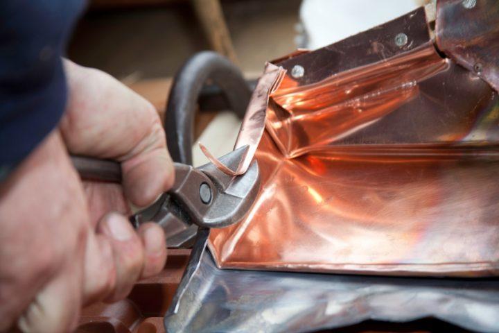 Kupferblech Zuschnitt