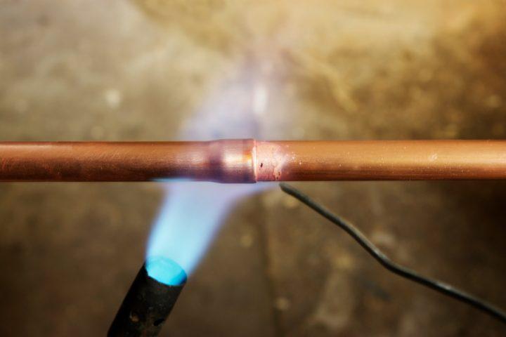 Kupferrohr pressen oder löten