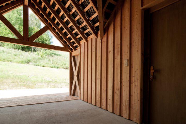Lärchenholz Fassade