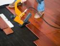 Laminat auf Holzboden verlegen