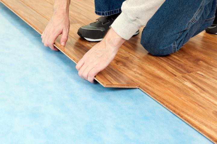 Laminat auf PVC-Boden verlegen