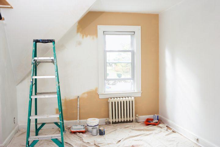 Latexfarbe im Schlafzimmer » (K)eine gute Idee?