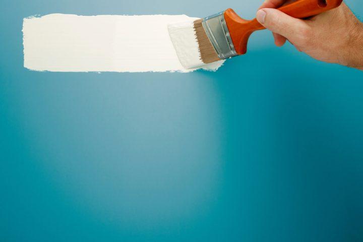 Latexfarbe mit Latexfarbe überstreichen