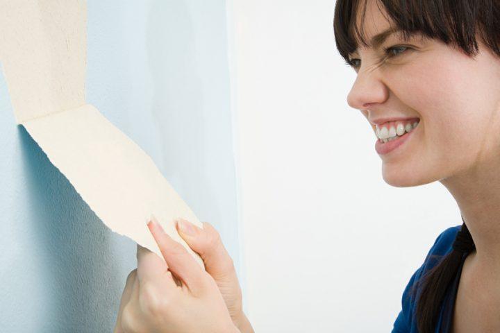 Extrem Latexfarbe von Rauhfaser entfernen » So klappt's BO26