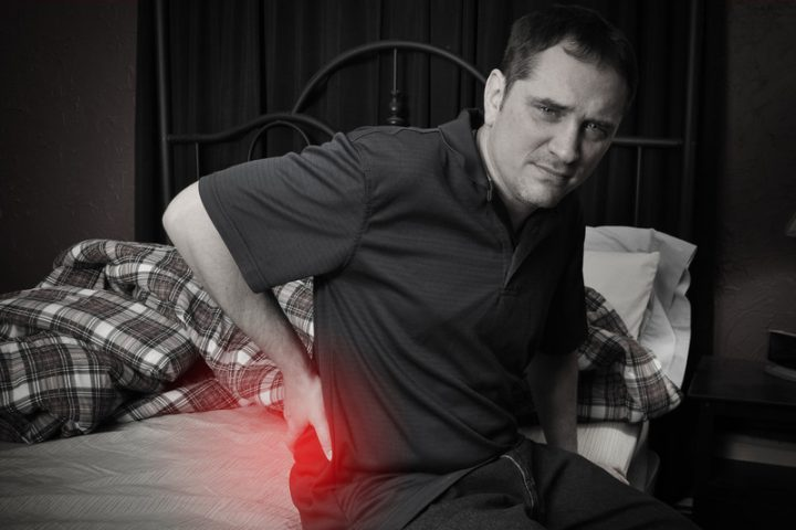 Lattenrost Rücken tut weh