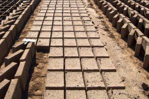 Lehmziegel sind eine umweltfreundliche Alternative