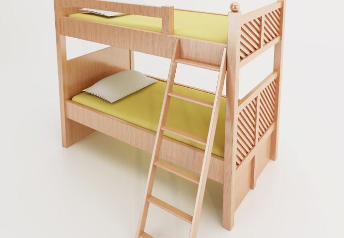 Etagenbett Leiter Schräg : Leiter fürs hochbett selbst bauen so geht s