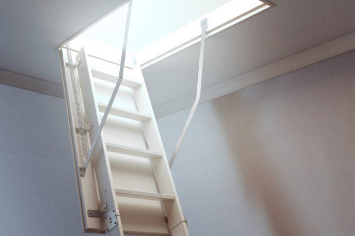 Leitertreppe Steigung