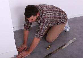 linoleum reparieren anleitung in 4 schritten. Black Bedroom Furniture Sets. Home Design Ideas