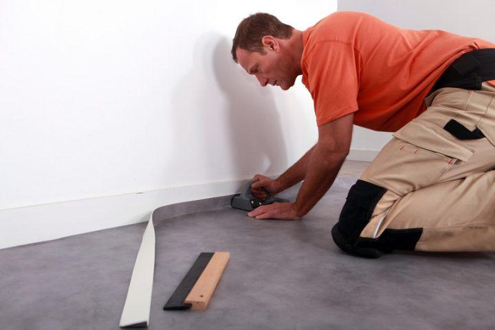Beliebt Linoleum verlegen » Ausführliche Anleitung für Heimwerker TM58