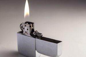 Löten mit Feuerzeug