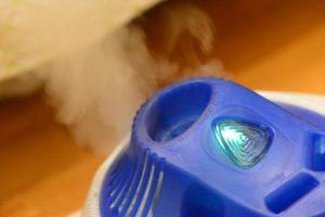 Luftbefeuchter säubern