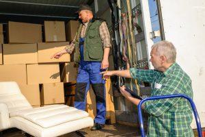Möbel einlagern Kosten