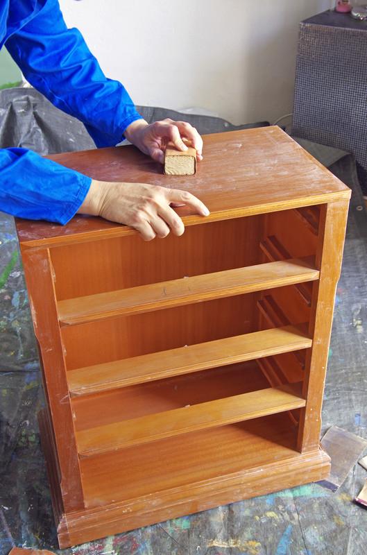 Möbel streichen