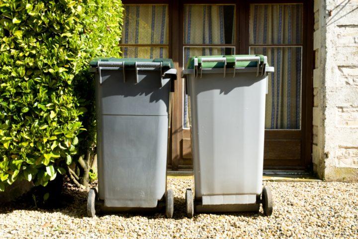 Mülleimer entsorgen