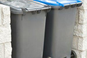 Mülltonnen verstecken