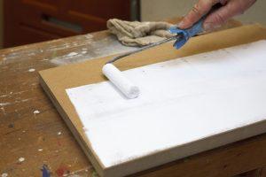 MDF Platten lackieren