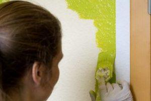 Malervlies lackieren