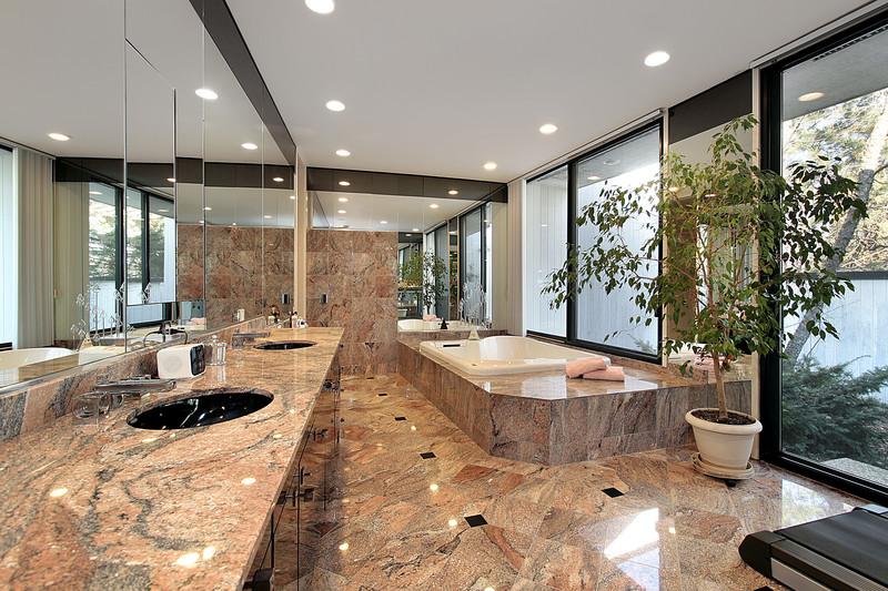 marmorboden reinigen - Marmorboden Wohnzimmer