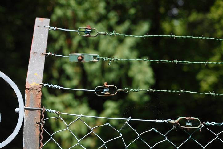 Geliebte Maschendrahtzaun erneuern » So wird's gemacht &UG_44