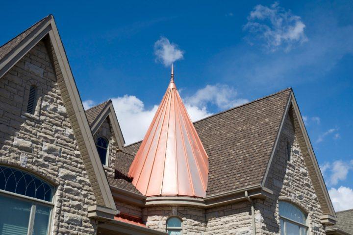 Materialien für die Dacheindeckung