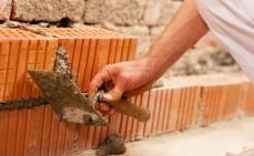 Mauer bauen