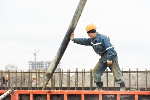 Mauer betonieren