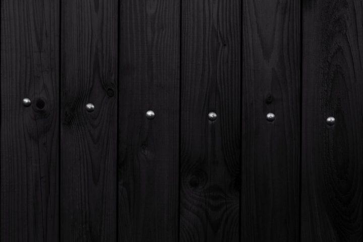 Mauer mit Holz verkleiden