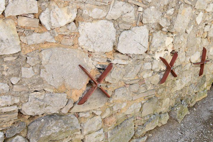 Mauern befestigen