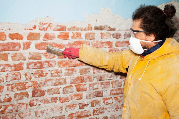 Mauerwerk Salzsäure