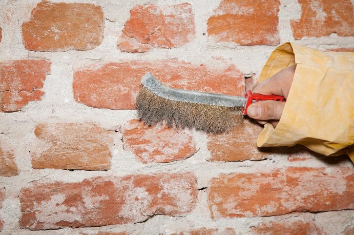 Mauerwerk freilegen Das sollten Sie bedenken ~ 18031254_Backstein Mauerwerk Brandschutz