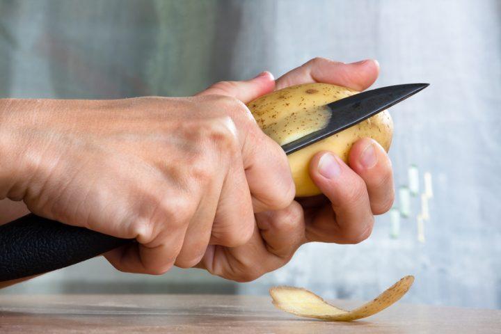 Messer Rost entfernen