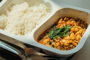Reis in der Mikrowelle kochen