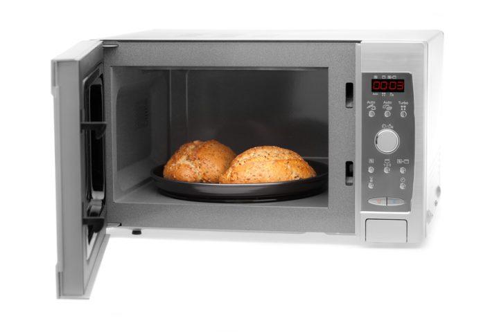 Mikrowelle Brot