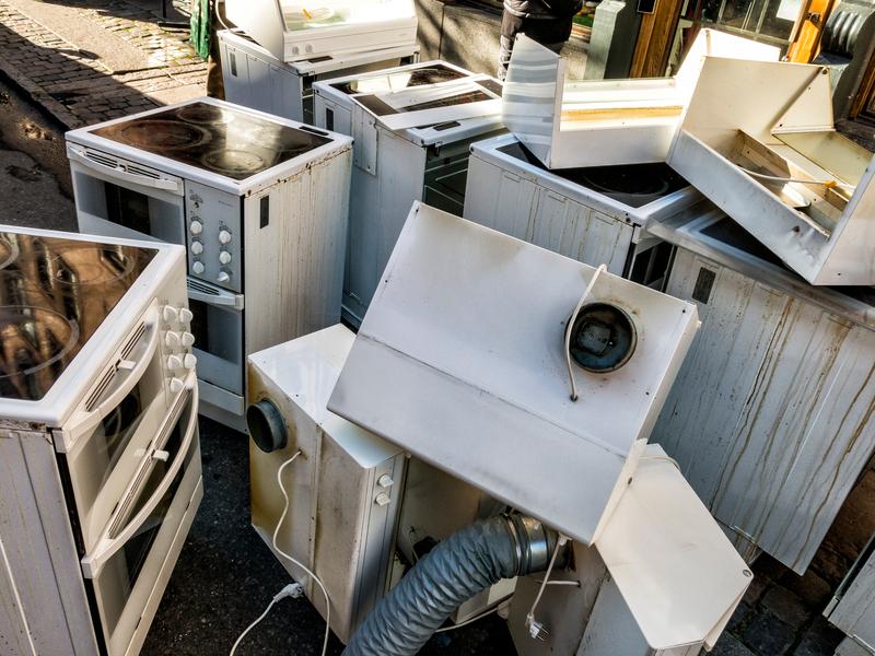 Mikrowelle entsorgen wohin mit dem elektroschrott