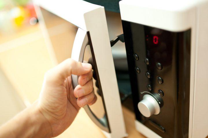 Mikrowelle kühlt